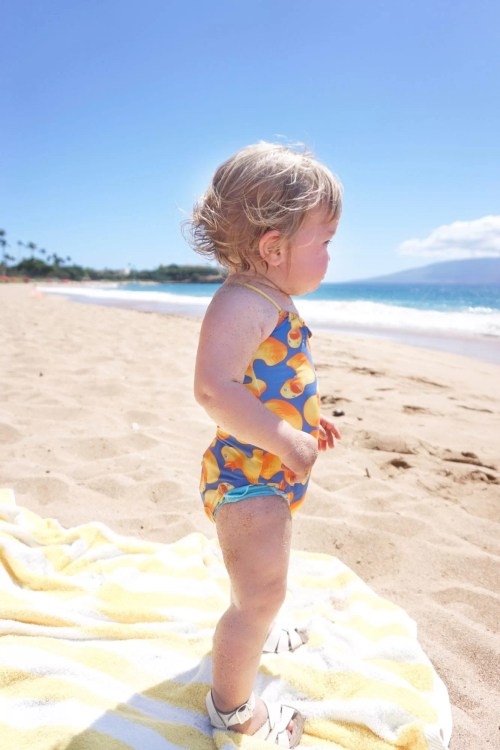 Traveling to Maui with Kids, traveling with children, Hawaii Guide, Kaanapali Beach