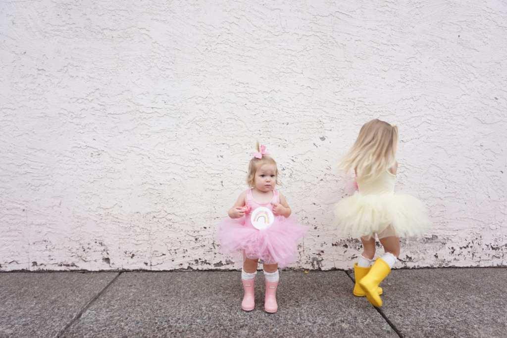 Plum NYC Tutus, DIY Halloween Costumes, toddler hunter boots, toddler style, Halloween, toddler fashion, toddler girl , care bears, care bear costume