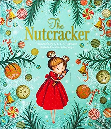 nutcracker, nutcracker book, christmas book, gift ideas for girls