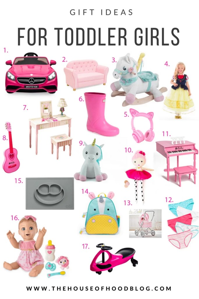 Toddler Girl, Girly Toys, Girly gift guide, christmas gift ideas, pottery barn, nordstrom, hunter boots, electric car