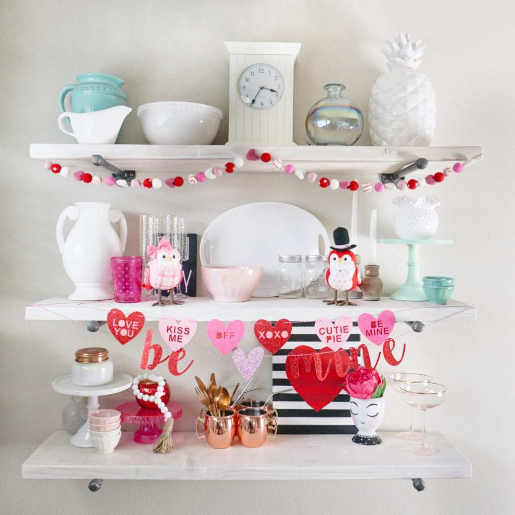 valentines day-toddler fashion-DIY-party hats-etsy-holiday-valentines cookies-DIY valentines-pajamas-baby pajamas-siblings-pipe bracket shelves