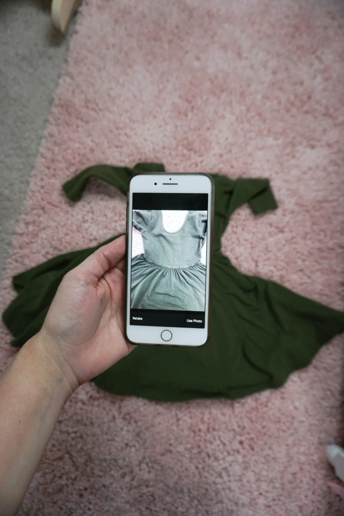 Selling gently used kids clothing with the Kidizen app.