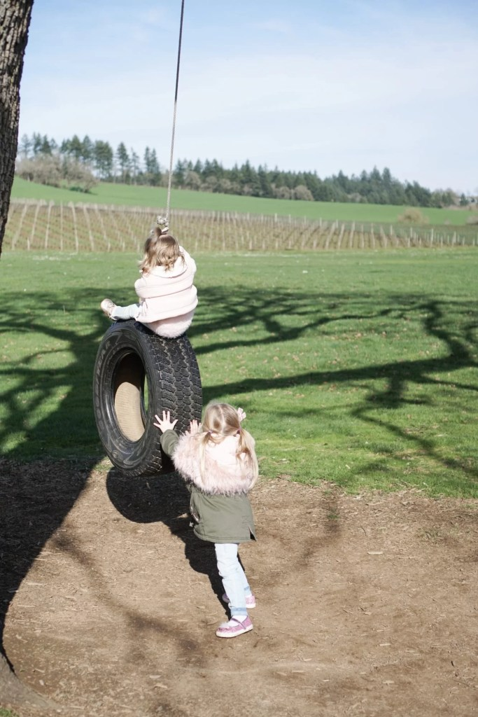 kid friendly, wine tasting, oregon wine, rosé, champagne, cheese board, wineries, dundee hills, travel oregon, pinot noir, Portland, pdx