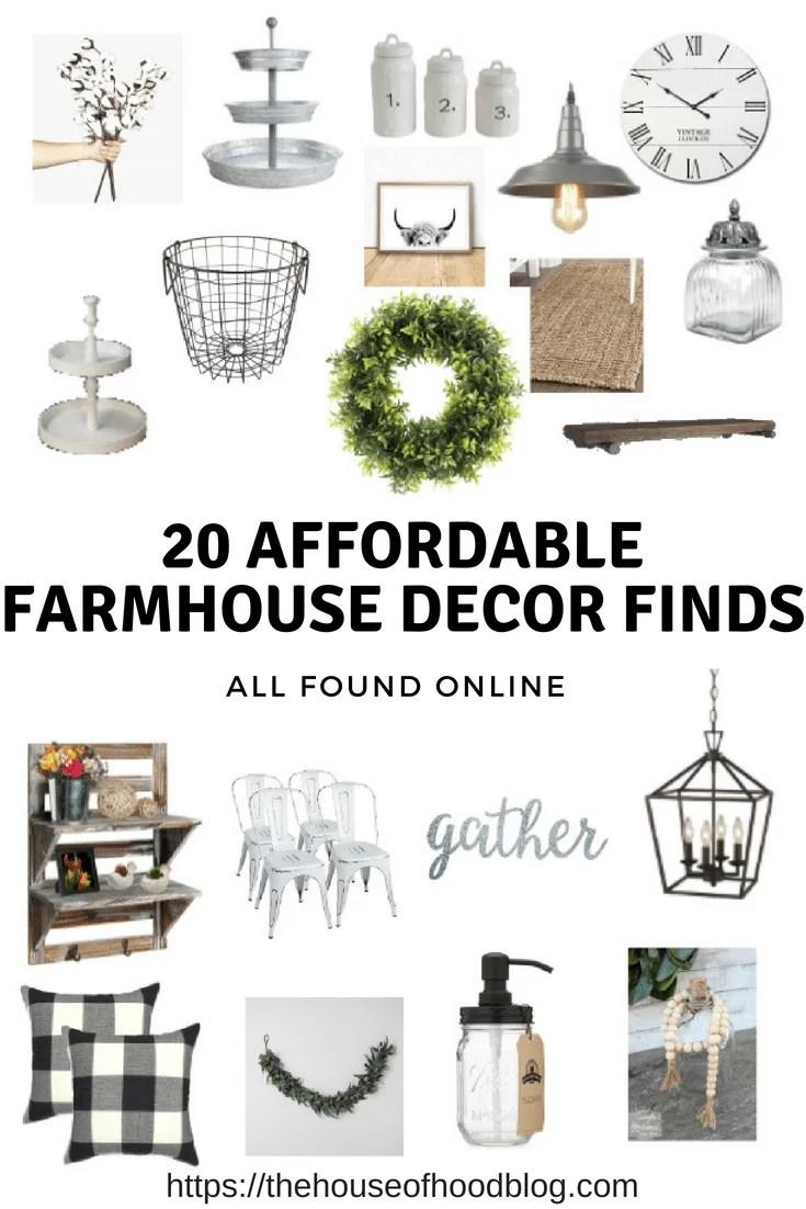 20 Affordable Farmhouse Decor Items The House Of Hood Blog