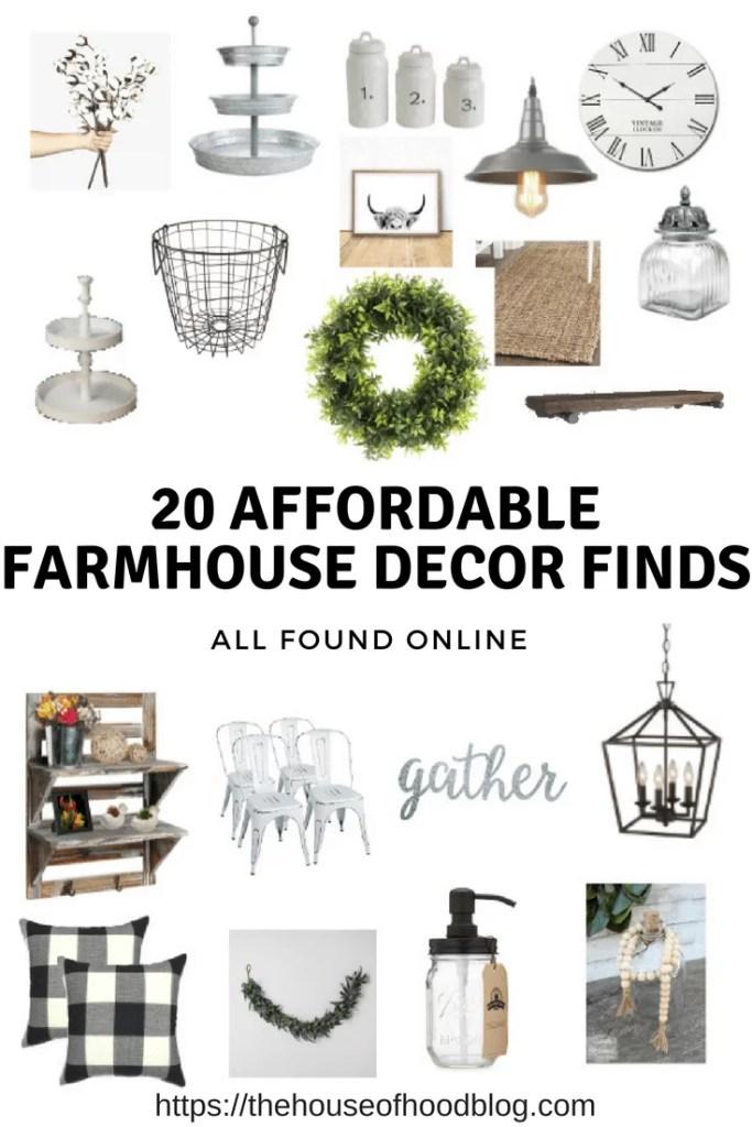 20 Affordable Farmhouse Decor Items