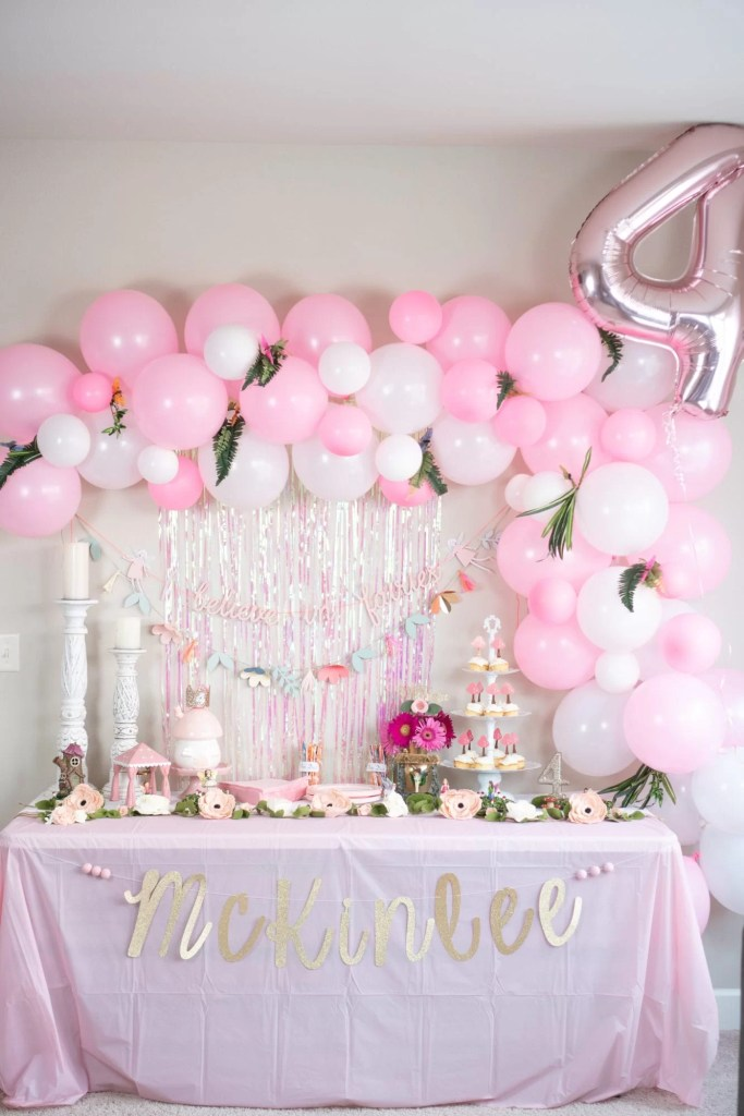 Fairy Themed Birthday Party Diy Cupcake Decorating Childrens Ideas For