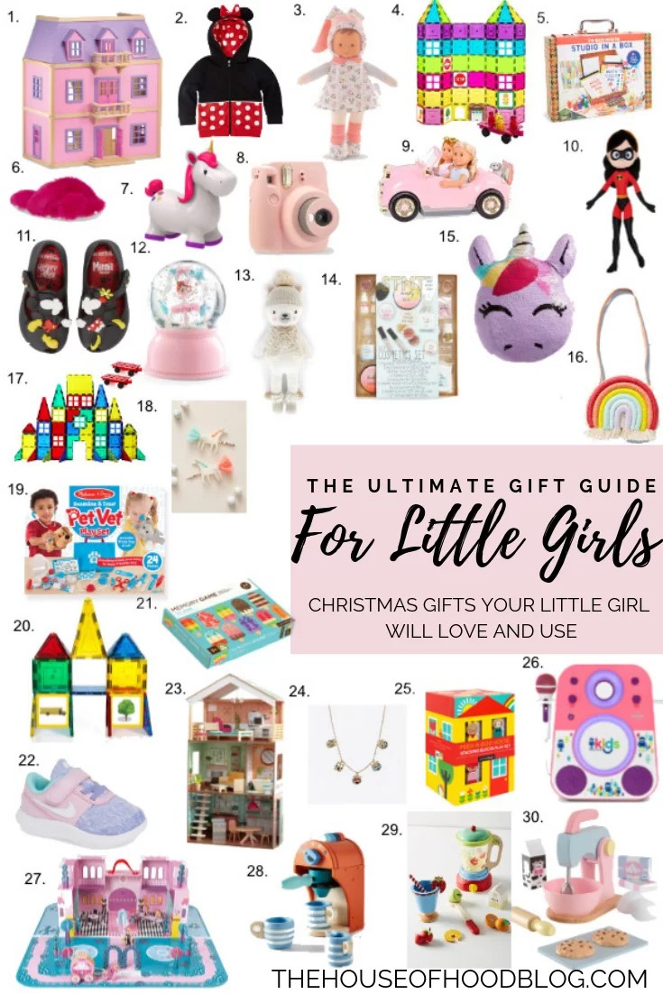 The Ultimate Christmas Gift Guide for Little Girls - The House of ...