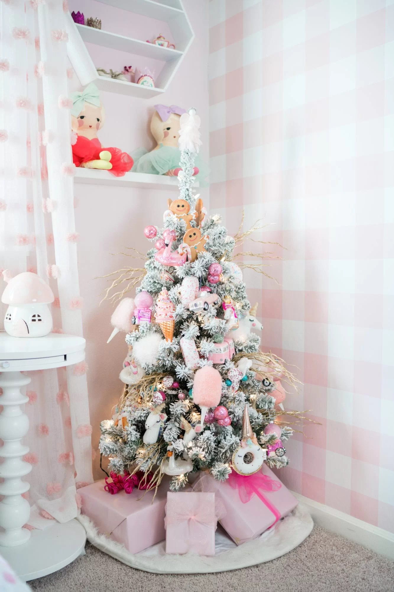 little girls christmas tree pink christmas tree decorations little girls christmas tree pink