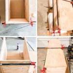Diy Patio Storage Bench