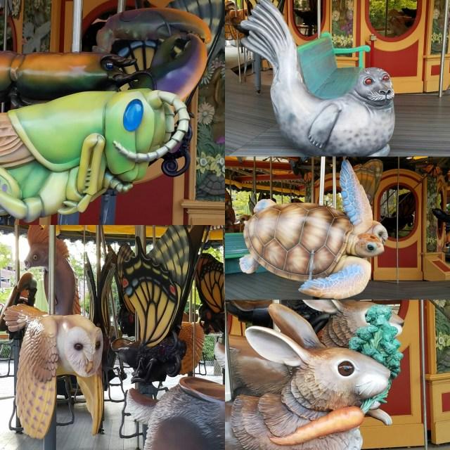 Fantastical animals await you on Boston's Greeway!