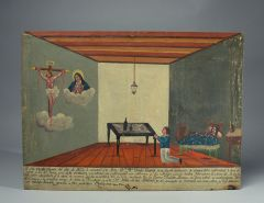 Votive painting from Mexico