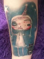 """Starchild"" as a tattoo"