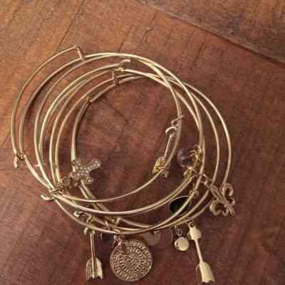 DIY: Alex & Ani Bracelets
