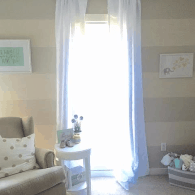 Before & After: Neutral Nursery