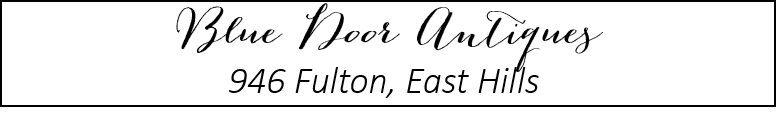 blue door antiques header.png - Best Of: Grand Rapids Boutiques