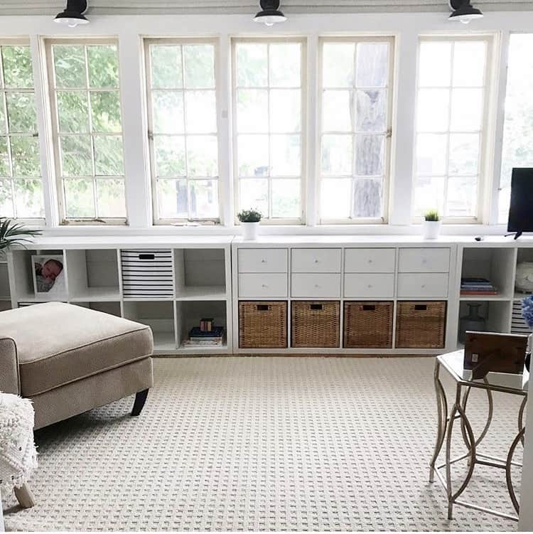 Sunroom Before & After, a project featured by top Michigan lifestyle blog, House of Navy