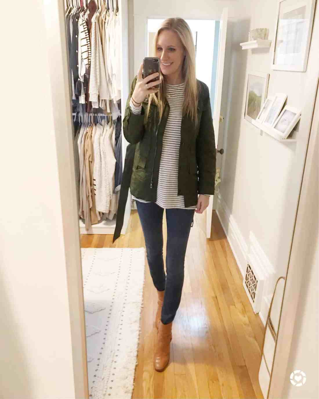 Instagram Maternity Outfits Round Up featured by top MI fashion blogger, House of Navy