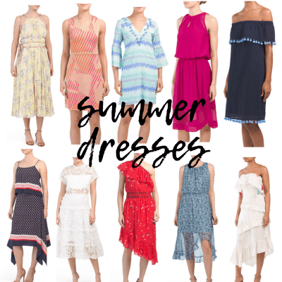 Summer Dresses for All Occasions with TJ Maxx