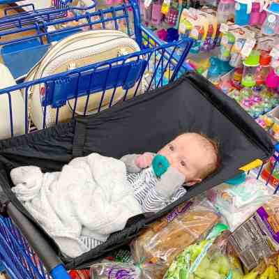 Shopping with a Newborn featuring Binxy Baby