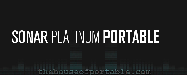 sonar platinum 23.10 portable