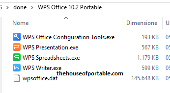 wps office 2017 portable files