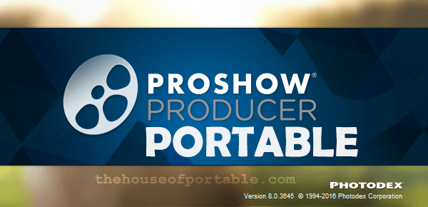 Proshow producer portable