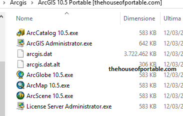 arcgis portable files