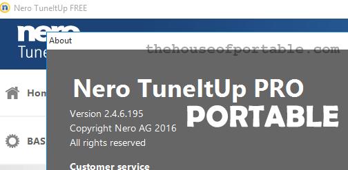nero tuneitup pro portable note