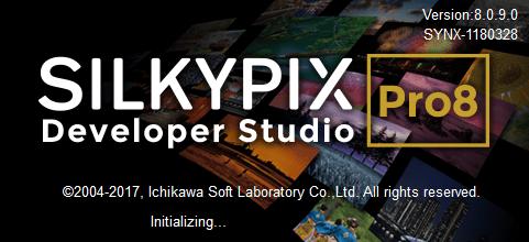 silkypix dev studio pro 8 portable splash