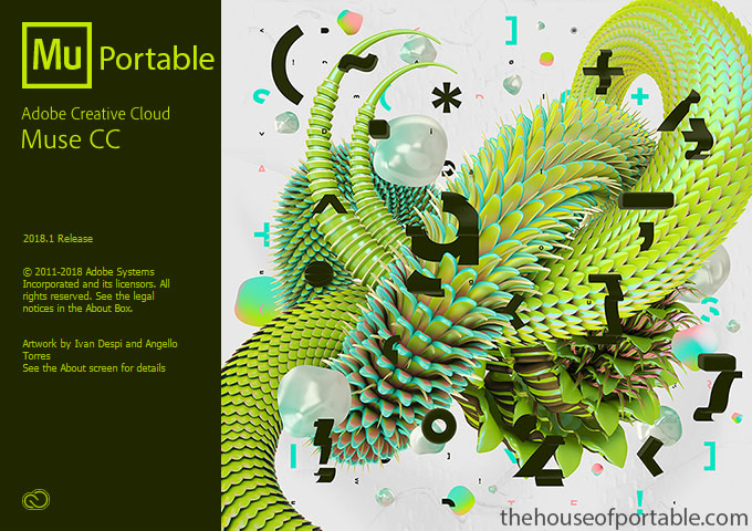 Adobe Muse CC 2018 1 Portable - The House of Portable