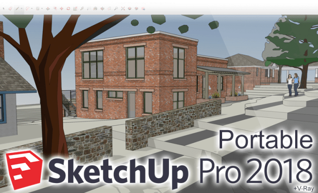 Sketchup Pro 2018 Portable V Ray 3 60 02 Plugins 18 0