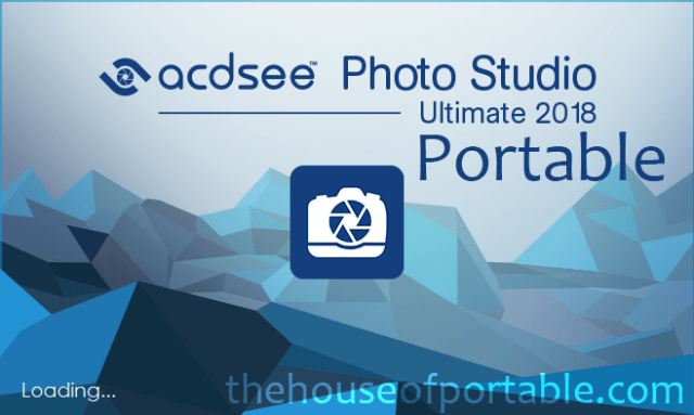 acdsee photo studio ultimate 2018 11.2 portable