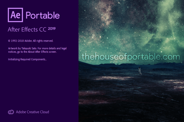 adobe after effects cc 2019 portable