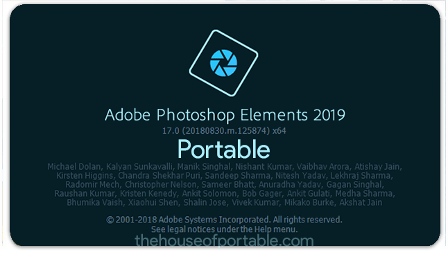 adobe photoshop elements 2020 portable