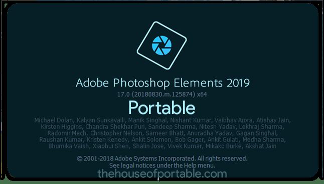 adobe photoshop elements 2020 portable