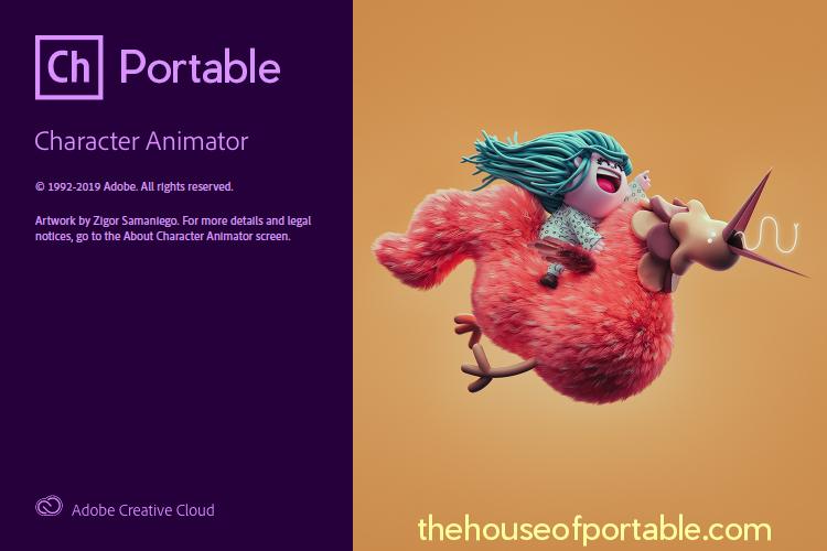 adobe character animator 2020 portable