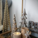 How To Style A Bar Cart For Christmas The House Of Sequins