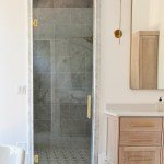 The Forest Modern Modern Vintage Master Bathroom Reveal The House Of Silver Lining