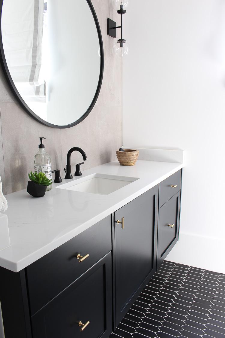 bathroom design with the concrete trend