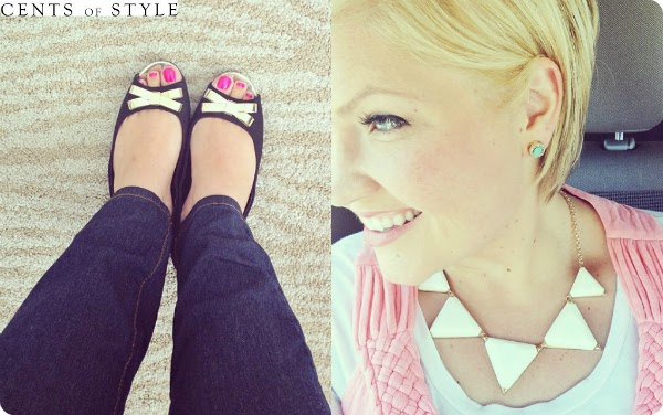 Cents of style fashion - shoes with bows - affordable jewelry - house of smiths