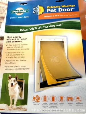 installing a doggy door, thehouseofsmiths, zaylee, Pet Door, extreme weather pet door, PetSafe