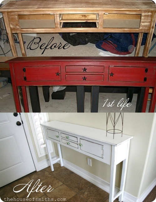 Entry way table life - thehouseofsmiths.com