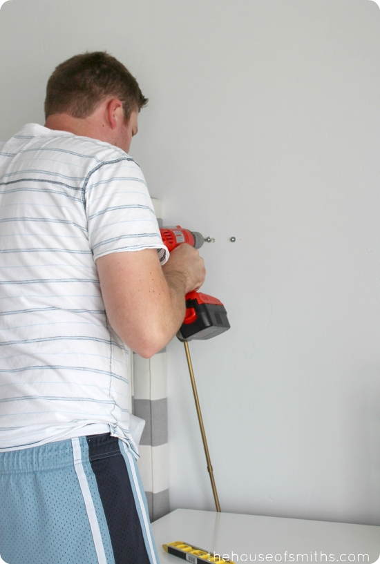 Installing sconces in Master Bedroom - thehouseofsmiths.com