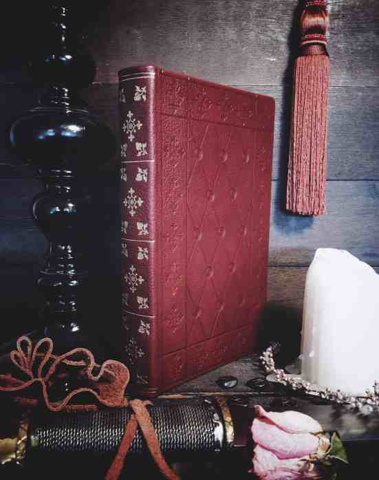 nate nccall dark bookbinding handmade grimoire journal the house of twigs
