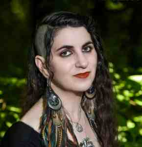 the house of twigs THOT witch writer laura tempest zakroff