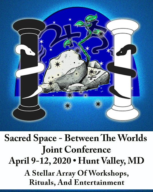 sponsored Ad the hosue of twigs Between The Worlds - Sacred Space 2020