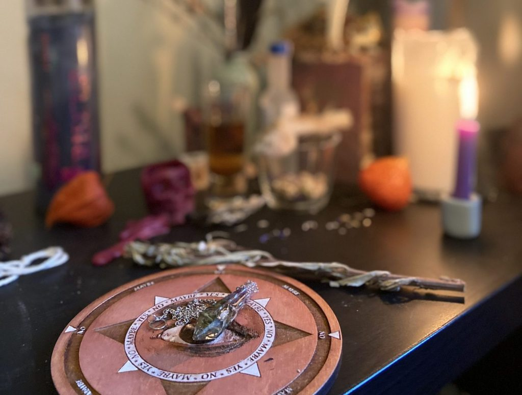 roma heathen practice solstice new year samhain ancestors veil bell