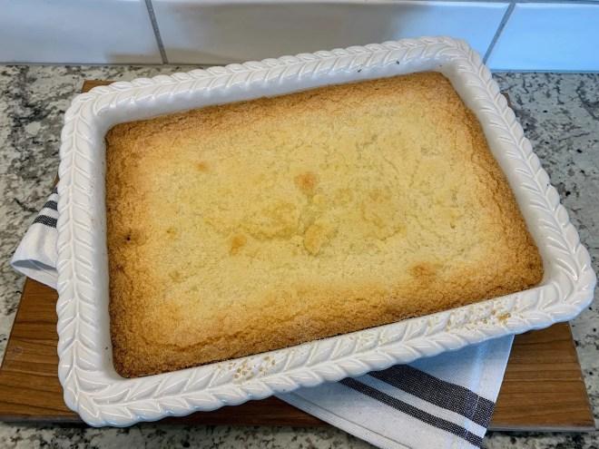 Bake Dutch Letter Bars at 350 degrees until golden brown.