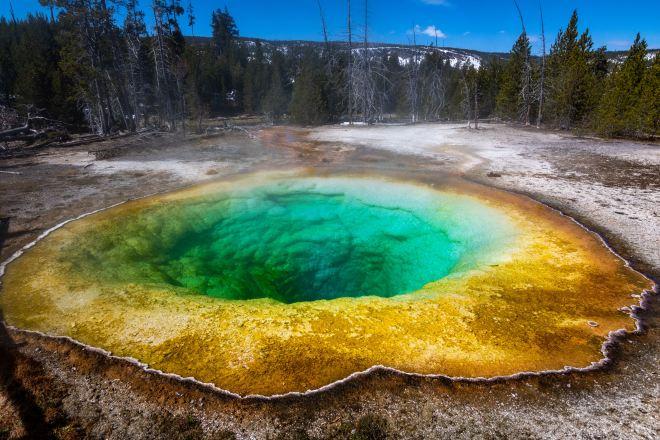 Yellowstone National Park prismic pool.