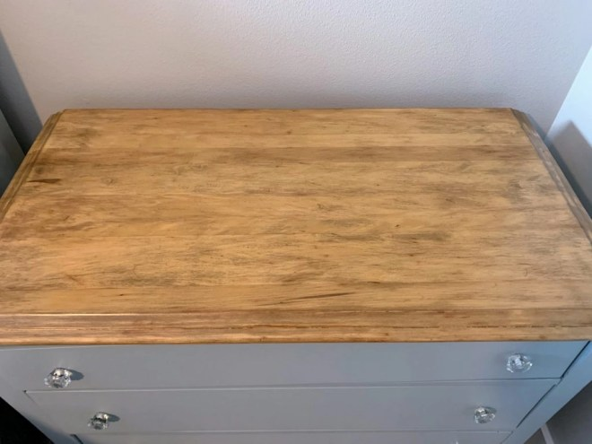 Antique Dresser Makeover with General Finishes Milk Paint